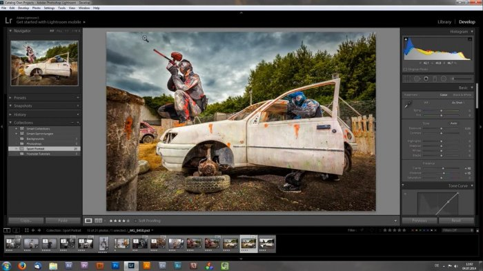 Paint with Light � Lightroom