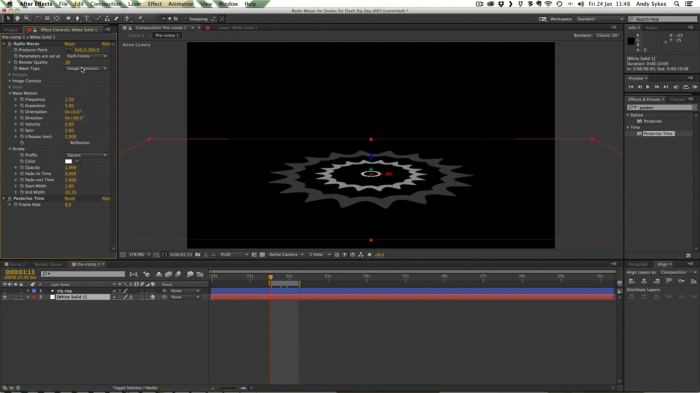 2D ������� ������ � After Effects � Flash