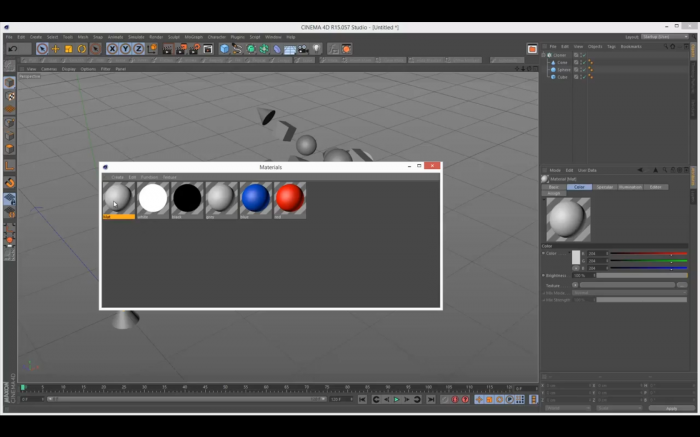 Cinema 4D Tutorial - Introduction to the Multi-Shader