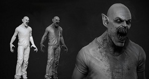 ���������� � ������������� ������� � Zbrush � 3ds Max