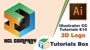 3D логотип в Illustrator CC