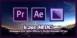 h.265 (HEVC) - Premiere Pro, After Effects & Media Encoder CC 15.1 (S E R E B R Y Λ K O V)