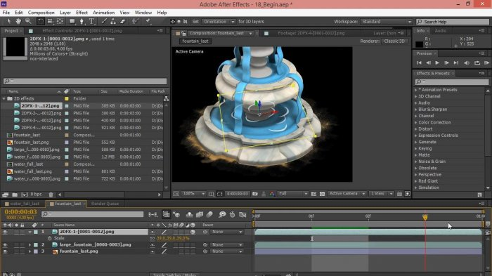 ����������� �������� ��� ��� � 3ds Max � After Effects