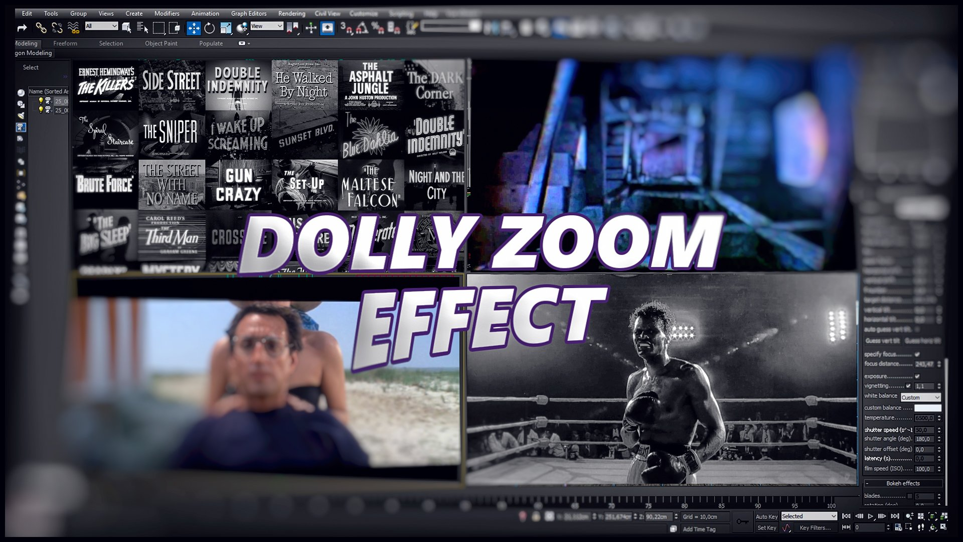 Dolly Zoom Effect (S E R E B R Y A K O V)