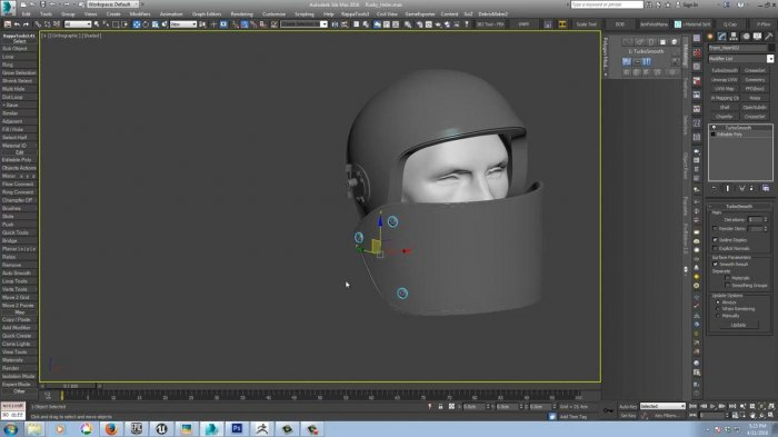 ������������� ����� �������� � 3ds Max � Zbrush