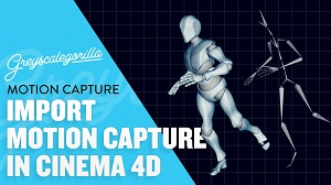 Импорт данных Motion Capture в Cinema 4D