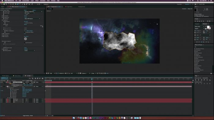 ����������� ������������ � After Effects