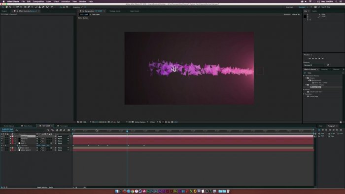 ��������� ������ � ���� � ��������� � After Effects