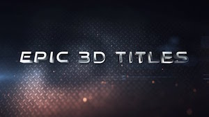 Эпический 3D тайтл в After Effects