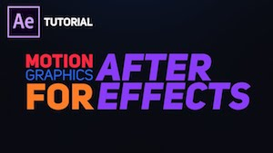 Бодрая анимация текста в After Effects