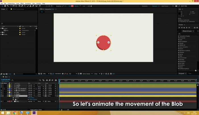Анимируем прыгающие шарики в After Effects