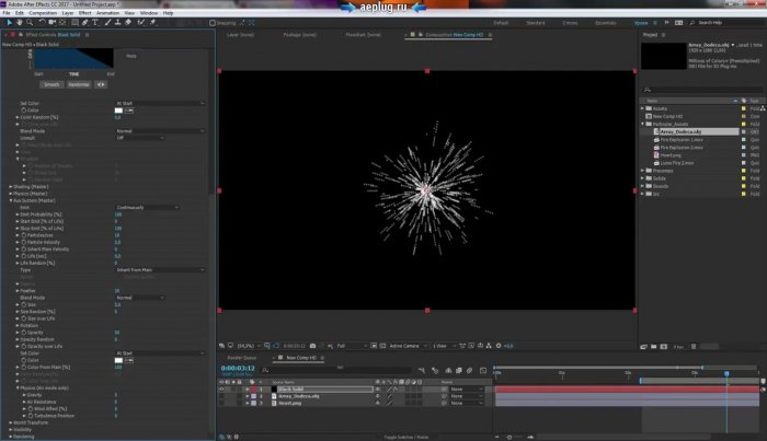 Обзор Trapcode Particular 3 плагина для After Effects